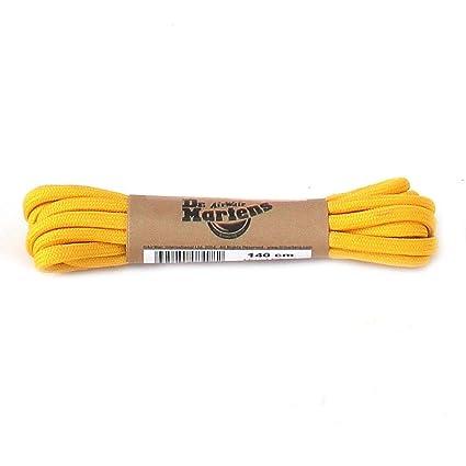 great deals exquisite design best cheap Dr. Martens Round Lacci per scarpe, Giallo (Yellow), Taglia ...