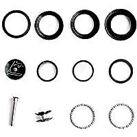 28.6mm Steerer Tube Headset Stem Top Cap Toygogo Road Mountain Bike 1 1//8