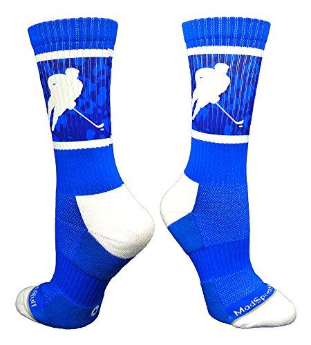 Hockey Player Crew Socks