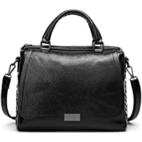 Forestfish Leather Women Tote Bag Handbags Satchel Bags for Work Travel