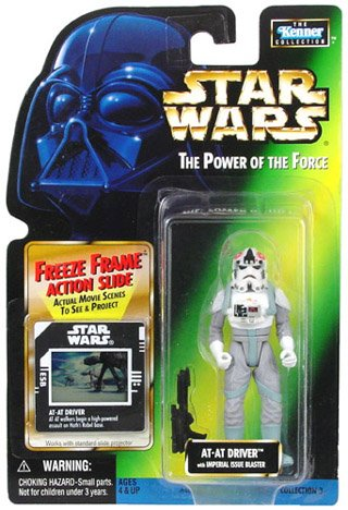 Star Wars: Power Of The Force Freeze Frame ≫ At-At Driver Action - Atat Driver