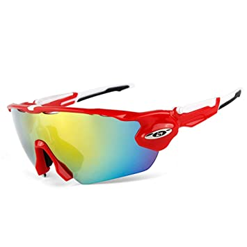 Amazon.com: QAQ.SPG Gafas de sol polarizadas deportivas ...