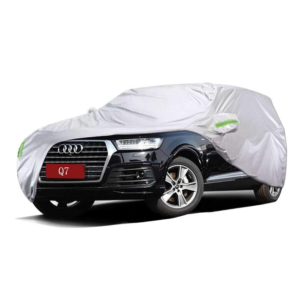 Amazon com: FlyDu Full Car Cover Audi Q7 Car Cover Special Sunshade