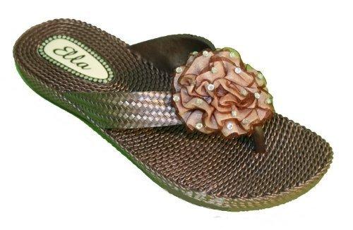 Ubershoes, Sandali donna, Verde (verde), 3 UK