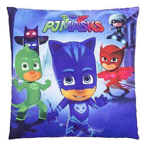 Kids P J Masks 35 X 35 CM Pillows/P J Masks Square Cushion [並行輸入品] B07RDX2CV4