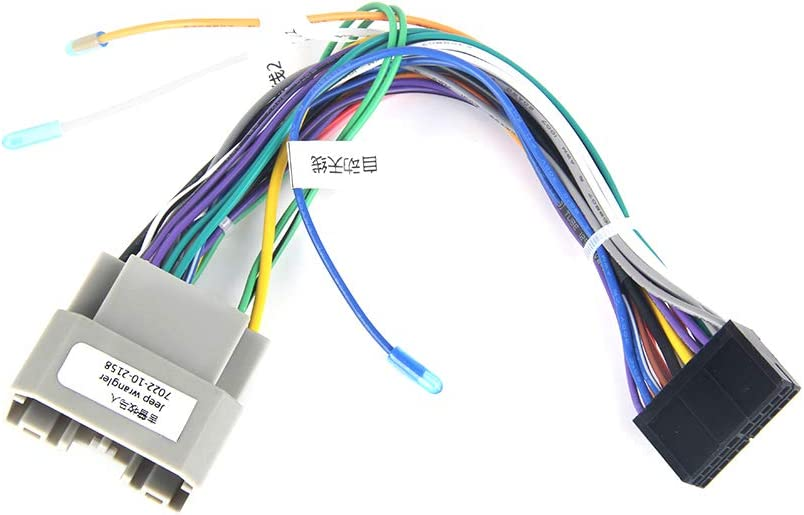 [ZHKZ_3066]  Amazon.com: Dasaita Car Stereo Wire Harness with CAN-Bus Adapter for Jeep  Wrangler 2011-2016 CB013 Canbus Decoder Support Steering Wheel Control  Original Amplifier: Car Electronics | Can Wiring Harness |  | Amazon.com