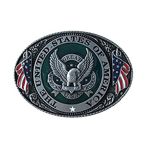 Eagle Belt buckles Western Cowboy Eagles buckles for ()