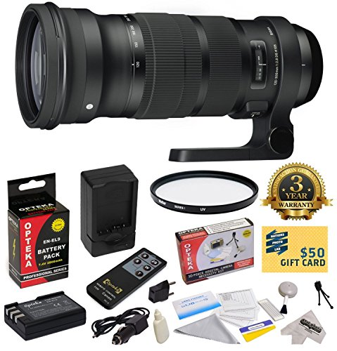 Sigma 120-300mm f/2.8 DG OS HSM Lens  With 3 Year Extended L
