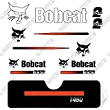 Bobcat T-450 Compact Track Loader Skid Steer Decal Kit (Straight Stripes)