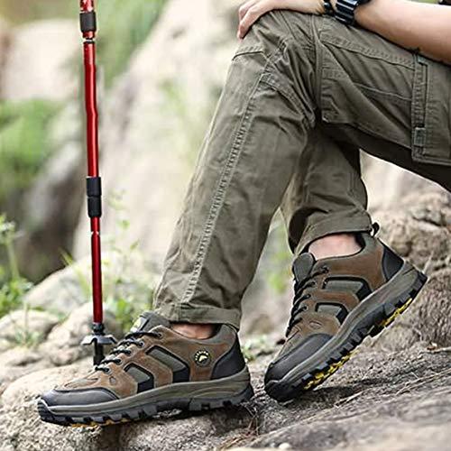 air Plein Plat Sports d'escalade en YG46170 randonnée Camping Hommes randonnée Talon pour Plein de air Chaussures Trekking Respirant Chaussures RBqxFWP8