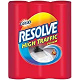 Resolve Carpet Cleaner High Traffic Foam, 22 oz, 3 Can Pack