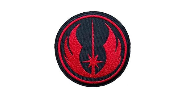Parches bordados con el logotipo de Athena Star Wars Jedi, para planchar o coser: Amazon.es: Juguetes y juegos