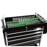 OEMTOOLS 22233 6 Piece Socket Tray Organizer