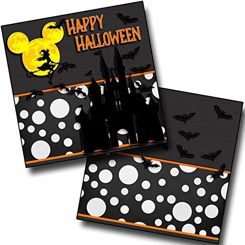 Happy Halloween - Castle NPM - Premade Scrapbook Pages - EZ Layout 3919 -
