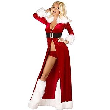 ZISIJI Cosplay Disfraz/Traje de Navidad,Vestido Largo con ...