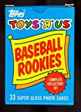 "1987 Topps Baseball Toys ""R"" Us Rookies Complete Box Set Barry Bonds Rookie Card"