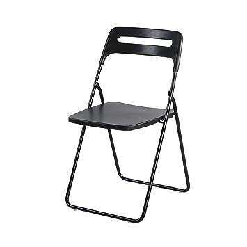 WYYY silla de Oficina Sillas Plegable Escotado por Detrás ...