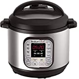 #7: Instant Pot DUO60 7-in-1 Multi-Use Programmable Pressure Cooker, Slow Cooker, Rice Cooker, Steamer, Sauté, Yogurt Maker and Warmer