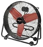 Protemp PT-24-DDF 24'' High Velocity Drum Fan, 2-Speed Garage Warehouse, 120V