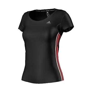 adidas Damen kurzärmliges Shirt Climacool Trainings Core