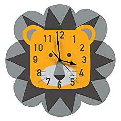 Trend Lab Lion Wall Clock, Yellow