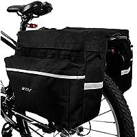 BV Bike Bag Bicycle Panniers with Adjustable Hooks,...