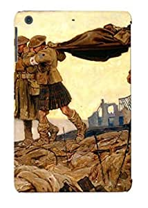 Standinmyside Case Cover Bale War Military Art Painting / Fashionable Case For Ipad Mini/mini 2