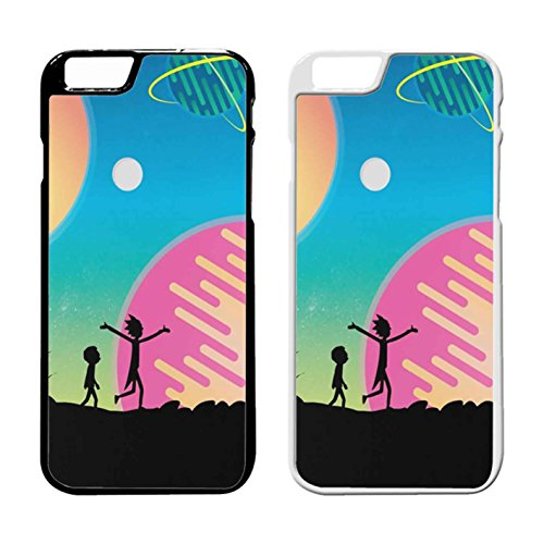 Rick And Morty Star Viewing 4 IPhone Case Iphone 6 Plus Case or Iphone 6S Plus Black Rubber IQ