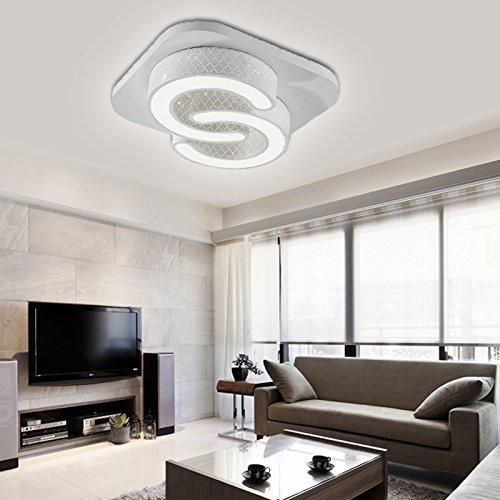 Fesselnd VINGO® 24w LED Deckenleuchte Esszimmer Modern Deckenbeleuchtung Weiß  Energiespar Leuchte 85V 265V: Amazon.de: Beleuchtung