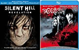 30 Days Of Night + Silent Hill: Revelation Blu Ray 2 Pack Thriller Horror Movie Set