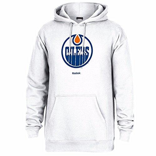 NHL Edmonton Oilers Men's Jersey Crest Pullover Hoodie, Medium, (Edmonton Oilers Nhl Jersey)
