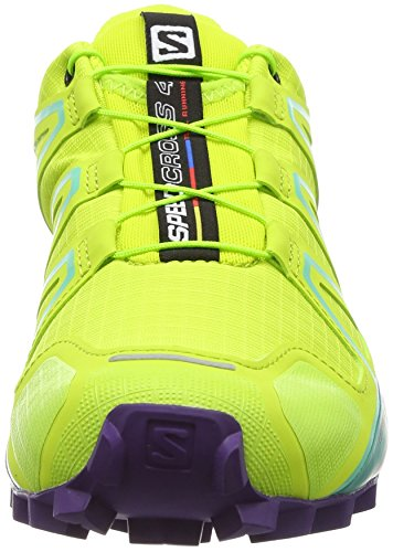 biscay Punch Green Multicolore 4 Femme lime Trail Salomon Speedcross De Chaussures f1Hv88zq