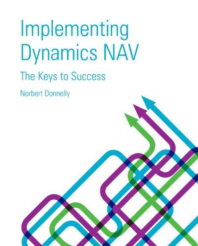 Download Implementing Dynamics NAV – Keys to Success Pdf
