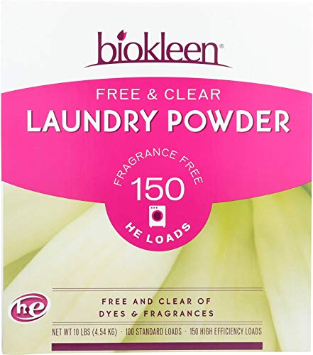 Biokleen Laundry Detergent Powder, Concentrated, Eco-Friendly, Non-Toxic,...