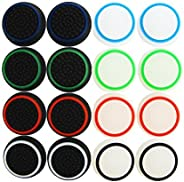 Pack of 16 units Pandaren Silicone Thumb Grip thumbstick Noctilucent Sets for PS2, PS3, PS4, Xbox 360, Xbox On
