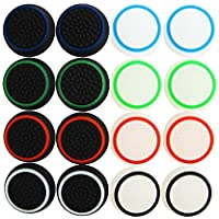 Pack of 16 units Pandaren Silicone Thumb Grip thumbstick Noctilucent Sets for PS2, PS3, PS4, Xbox 360, Xbox One controller