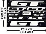 GT Decals Stickers Bicycle Frame Replacement