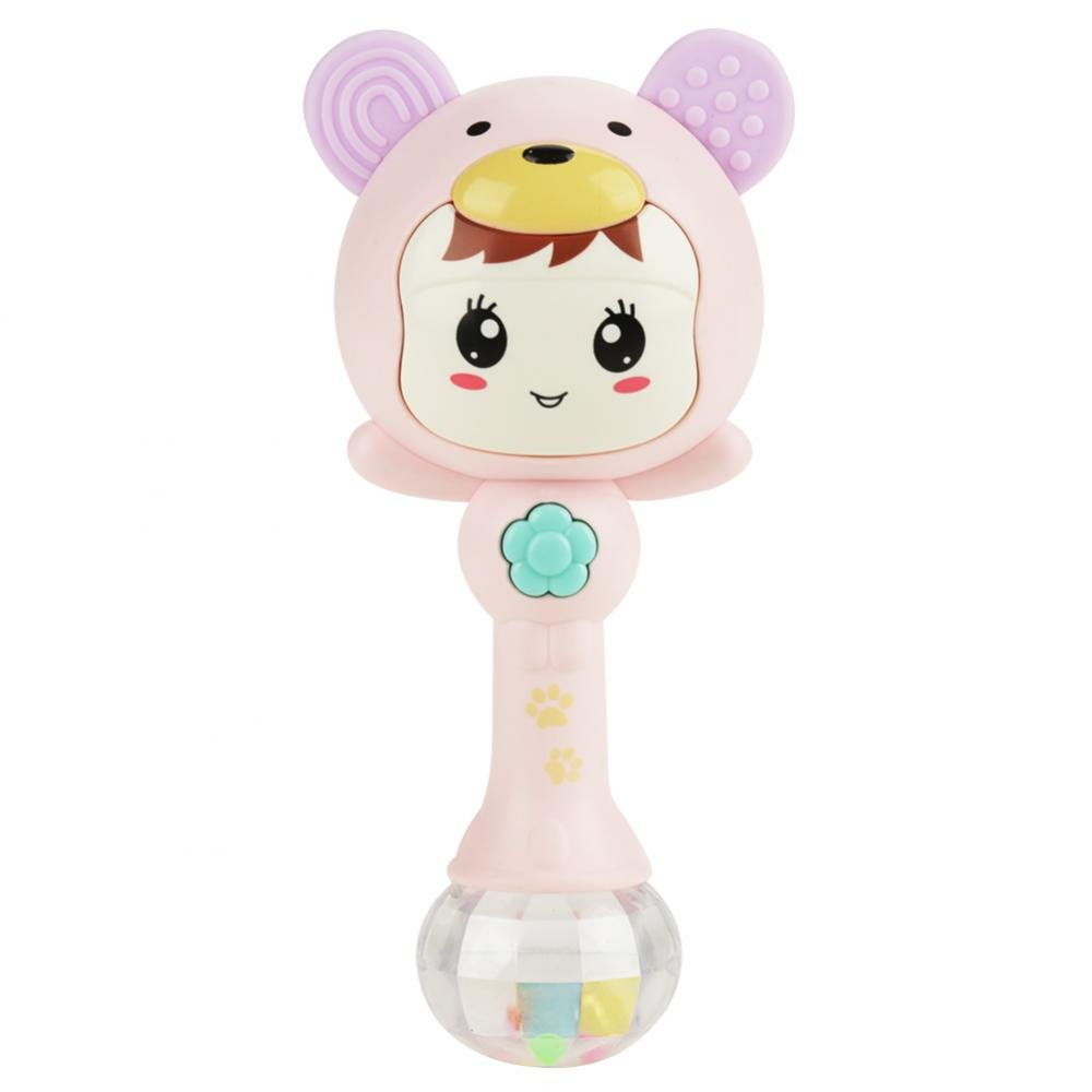ZOZOSEP Baby Early Educational Toys for 1-3 Years Old Hand Bell Knock Hand Bell Rattles Hit Musical Instruments Toys