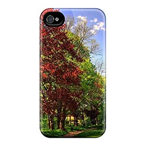 Cynthaskey Snap On Hard Case Cover Path To The Forest Protector For Iphone 4/4s by Maris's Diary