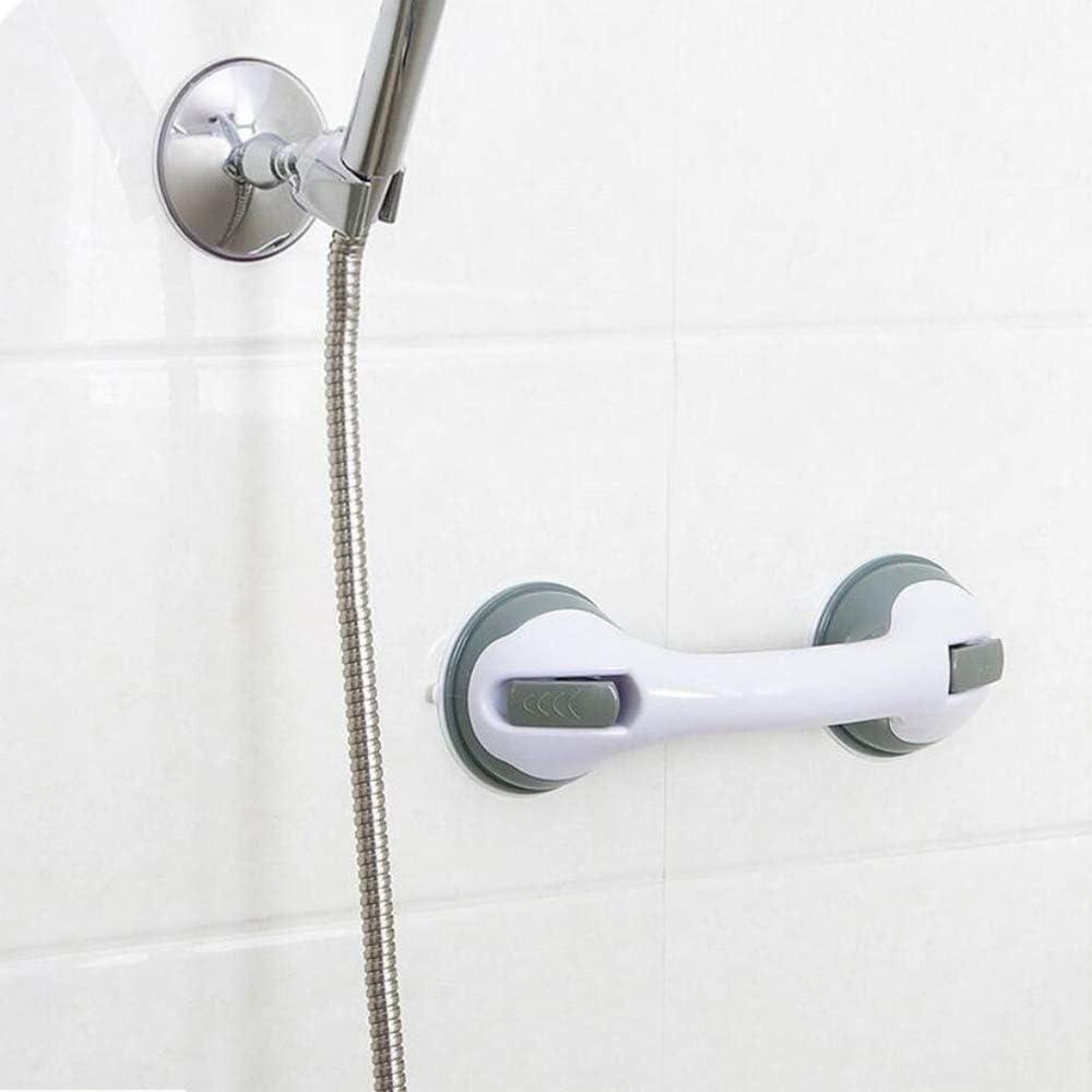 Xinlie Poignée Baignoire de Sécurité Poignée Ventouse de Douche pour Salle  de Bain + WC Mobile Poignée de Support de Baignoire Poignée de soutien de