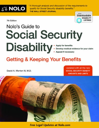 Nolo's Guide to Social Security Disability: Getting and Keeping Your Benefits Pdf