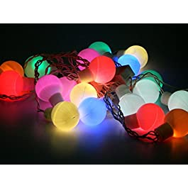 Tucasa DW-55 Pastel Color LED String Light (Multicolor)