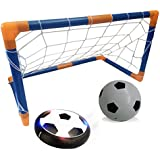 Zoejoy Hover Ball Toys for Kids, Hover Soccer Football with Powerful LED light and Foam Bumpers for Indoor Games