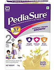 PediaSure Vanilla Delight 1Kg/35.2Oz - Plastic Jar - for Kids 2 years to 10 years
