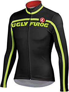 Uglyfrog 2018 UG8 New Spring&Autumn Outdoor Sports Mens Classic Long Sleeve Cycling Jersey Bicycle Shirt Triathon Clothing