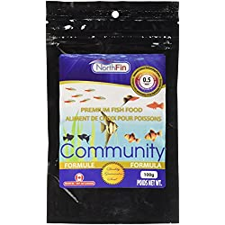 Northfin Food Community Formula 0.5mm Pellet 100 Gram Package