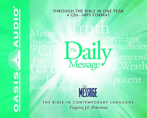 Mp3 Message (The Daily Message: Complete Message Bible (The Message))
