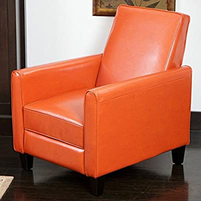 Best Selling Davis Leather Club Chair, Brown