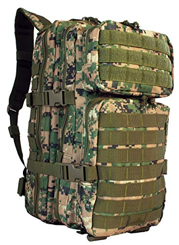 9005430 Red Rock Gear Assault Pack Woodland Digital