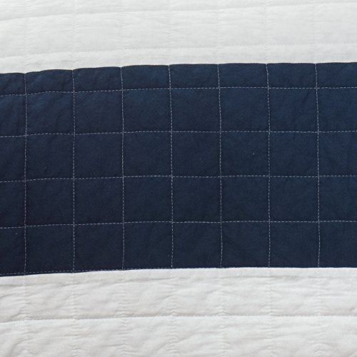 Buy nautical quilt blue